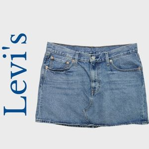 Levi's Denim Jeans Skirt Size 31